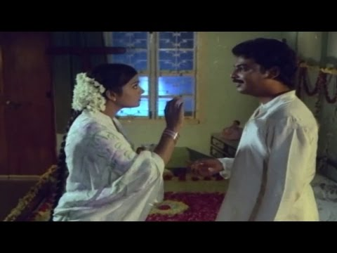 Mogudu Pellalu Movie || Naresh Firstnight Scene || Naresh, Bhanupriya, Srilakshmi video