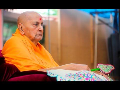 Guruhari Darshan 26 Apr 2016, Sarangpur, India