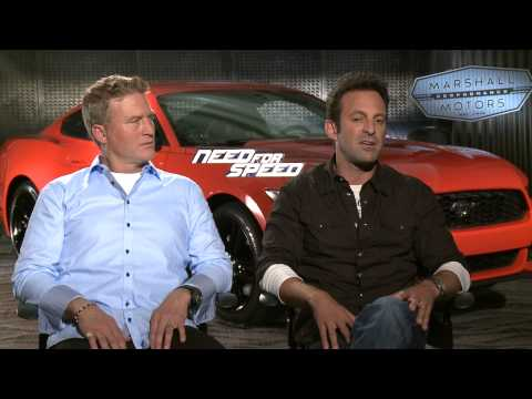 Need For Speed (2014) Exclusive: Scott Waugh And Lance Gilbert (HD) Aaron Paul, Dominic Cooper
