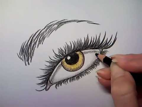 HOW TO DRAW EYE EYES EDWARD CULLEN EYE ROBERT PATTINSON BELLA VAMPIRE GOLDEN BREAKING DAWN TWILIGHT