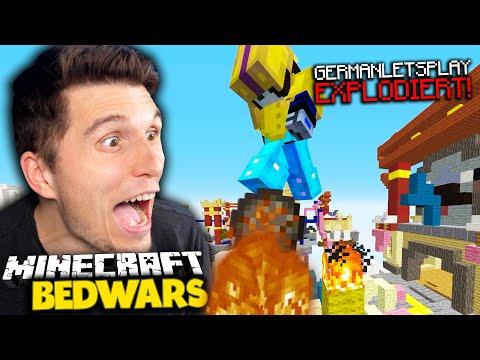 Diese EXPLOSION entscheidet das Spiel! | Minecraft Bedwars