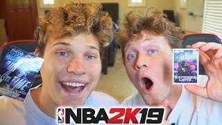 REAL LIFE DRAFT 'N' PLAY vs JESSER! NBA 2K19