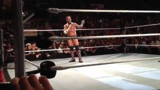 CM Punk speaks to the german WWE Universe (WWE Stuttgart 2012) WWE Wrestlemania Revenge Tour