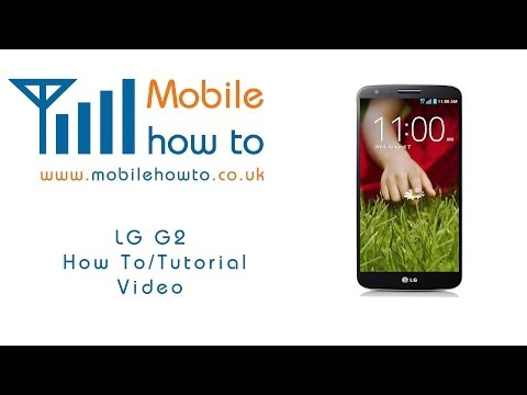 How To Repeat Message Alert Tone -  Lg G2 video