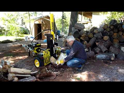 Champion 20 Ton Log Splitter