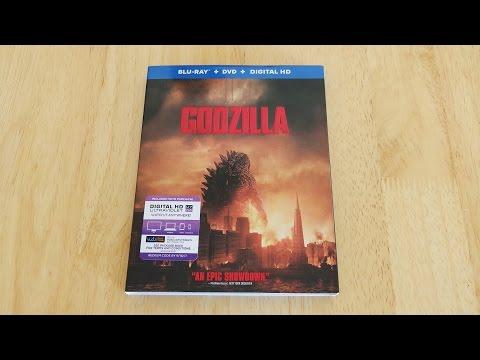 Godzilla 2014 Blu-Ray | DVD | Digital Copy Unboxing & Review
