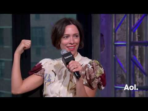 "Rebecca Hall On ""The BFG"" | AOL BUILD"