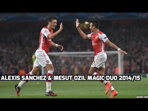Alexis Sanchez & Mesut Ozil | Arsenal Power | 2014/15 Amazing Goals and Skills