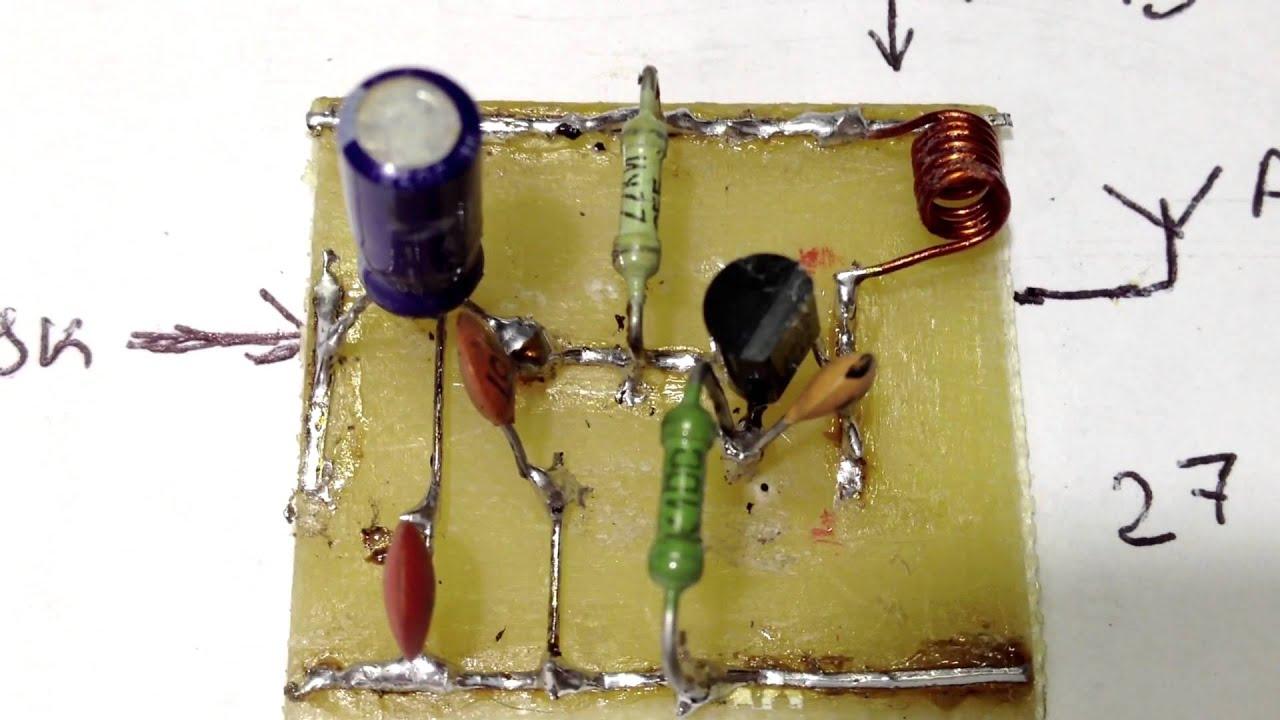 Как сделать приёмник на одном транзисторе