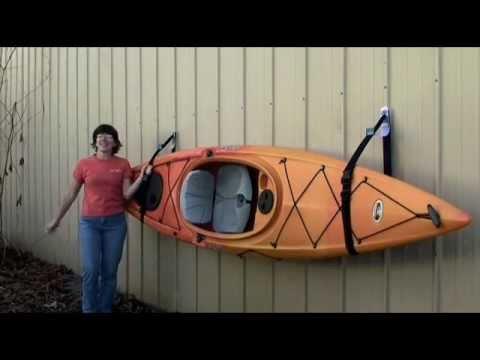 Talic SlingSet kayak storage system - YouTube