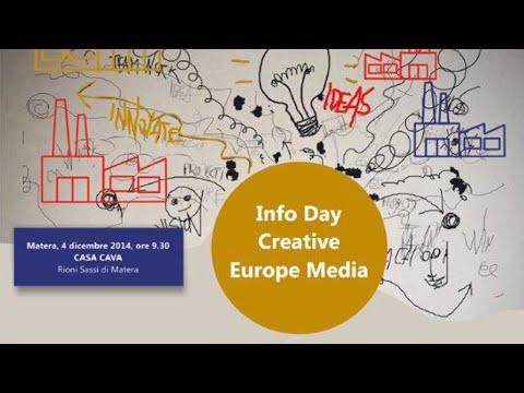 Info day Creative Europe Media