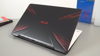 ASUS TUF FX504 / FX80GE i7 8750H Unboxing & Hands On Review