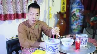 Dạy bốc bát hương tại gia,đơn giản mà ý nghĩa nhất việt nam-Cậu Khang Nam Định
