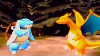 Pokemon - Blastoise and Charizard (funny)