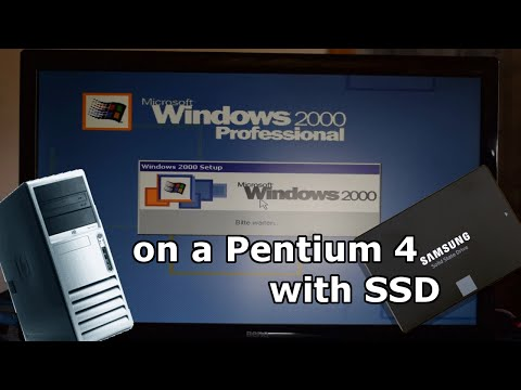 Installing Windows 2000 on a Pentium 4 with SSD thumbnail