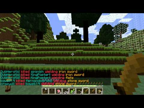 Gleecraft Minecraft 1.5 Cracked Hungergames server