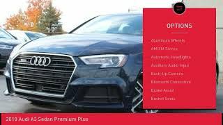 2018 Audi A3 Sedan Audi Kirkwood AK601