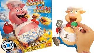 Pig Goes Pop eats lots of Burgers