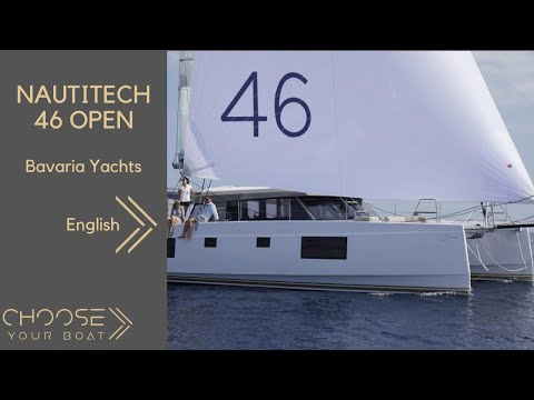 NAUTITECH 46 Open by Bavaria Yachts (Guided Tour in English)