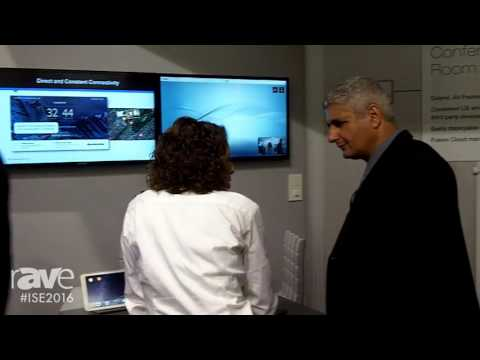 ISE 2016: Crestron Electronics Gives rAVe Video Conferencing Room Tour