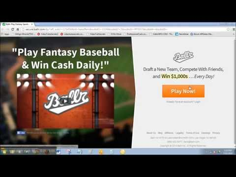 How To Sign Up &amp  Win Big Money In Fantasy Baseball   How To Play Fantasy Baseball