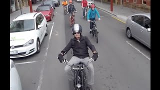 Electric Bikes, taking over the streets of Hobart