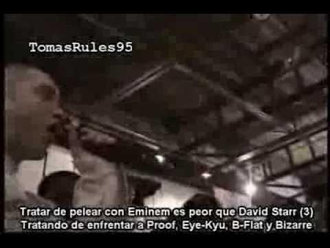 Eminem VS Kuniva - Freestyle Battle Subtitulado Al Español (Con Explicaciones) (Hip-Hop Shop)
