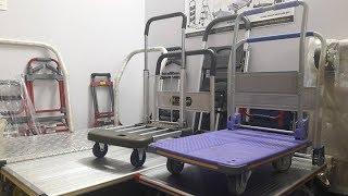 Búa test xe đẩy hàng 4 bánh sàn nhựa PT-0089 [maxkiwi]