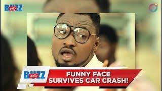 Funny Face survives car crash! | Daily Buzz! | AmeyawTV