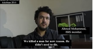 Chilling interview of ISIS fighters by Israeli reporters