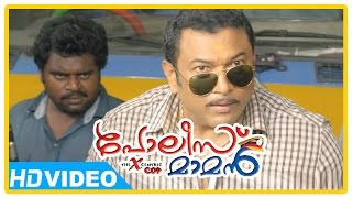 Police Maaman - Poilce Maman Malayalam Movie | New Malayalam Movie | Baburaj | Fights with Villians | 1080P HD