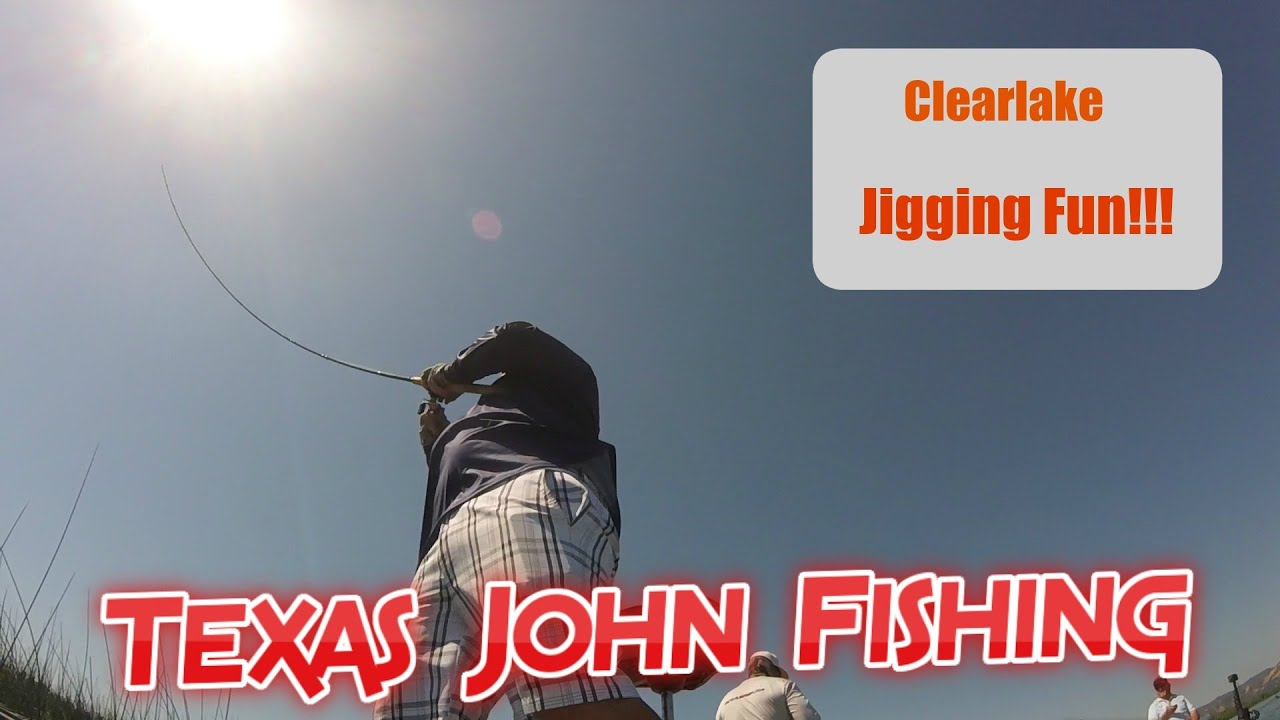 Jig Fishing for Clearlake Bass