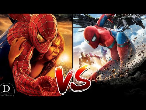 Spider-Man 2 VS Spider-Man: Homecoming - Which Movie Is Better? thumbnail