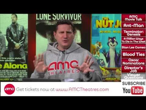 AMC Movie Talk - ANT-MAN Takes MAN OF STEEL 2 Date. TERMINATOR GENESIS Switches Production Companies