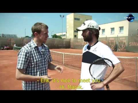LOVE 4 TENNIS Academy: An inside-out forehand by Dominik Hrbaty and Erik Csarnakovics