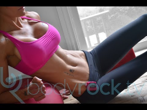 Hot Girl Six Pack Abs Workout