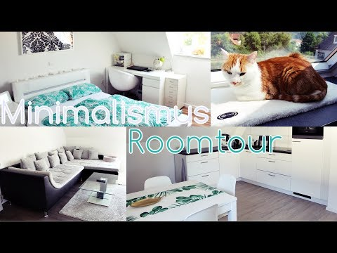 ROOMTOUR 🏡 MININALISMUS | Minimalistisch Wohnen 2018 ✨ | Diie Jule