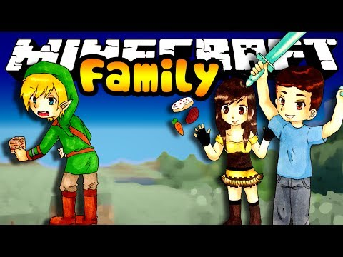 WOOD OBSTACLE COURSE? Minecraft Family Ep. 50