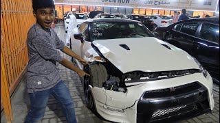 BUYING A CRASHED NISSAN GTR IN DUBAI
