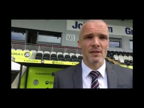 Jim Goodwin on being appointed player coach - 14/05/2014