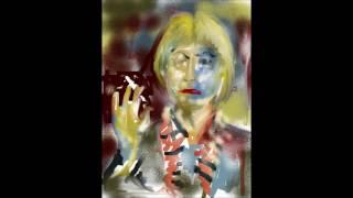 Willem de Kooning and Elaine  de Kooning Woman painting c n couvelis χ ν κουβελης musicEdgard Varese