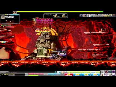 Maplestory Dark Knight lvl 180 solo Zakum Post Hyper
