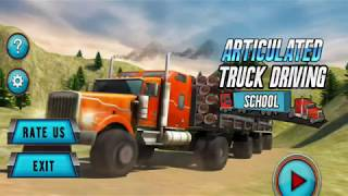 Articulated Truck Driving School - Offroad Truck Transport Android GamePlay FHD