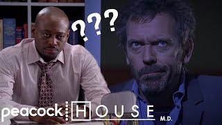 Foreman Tries To Be Calm  | House M.D.