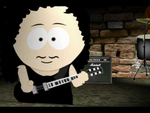 Last caress Metallica south park