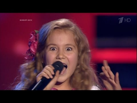 The Voice Kids Russia 2016. Margarita (Маргарита Стрюкова) — «Kolorowe Jarmarki». Голос Дети 3