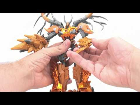 Video Review of the Transformers Prime: AM-19 Gaia Unicron