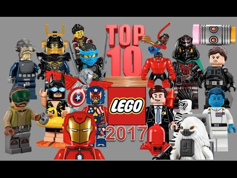 My TOP 10 Most Wanted LEGO Minifigures Spring 2017 Ninjago, Star Wars, Marvel, Batman Movie