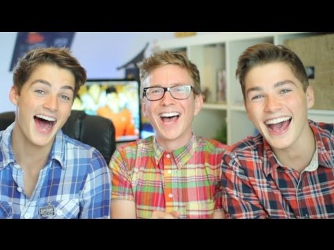 Twin Twinks Learn Gay Slang (ft. JacksGap) | Tyler Oakley thumbnail