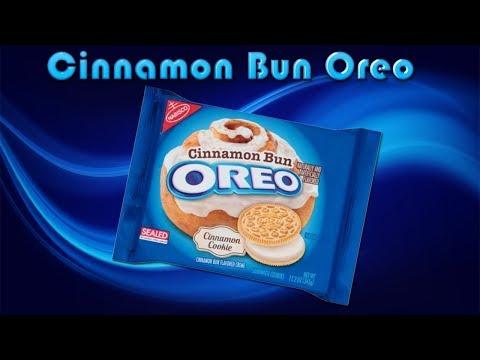 Cinnamon Bun Oreo Review